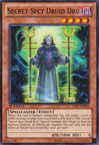 Secret Sect Druid Dru - SHSP-EN009 - Common - 1st Edition