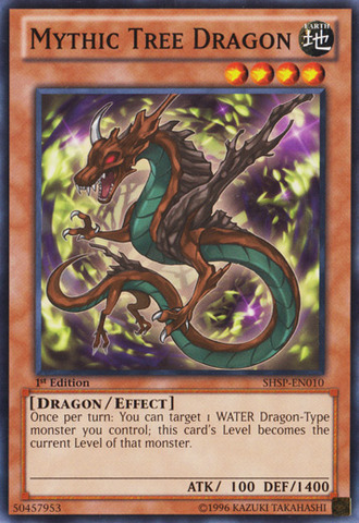 Mythic Tree Dragon - SHSP-EN010 - Common - 1st Edition