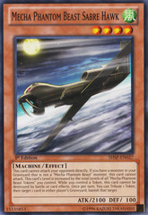 Mecha Phantom Beast Sabre hawk - SHSP-EN027 - Common - 1st Edition