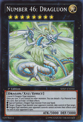 Number 46: Dragluon - SHSP-EN050 - Super Rare - 1st Edition