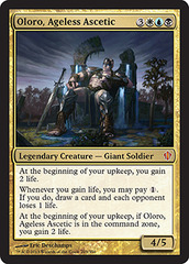 Oloro, Ageless Ascetic - Oversized on Channel Fireball