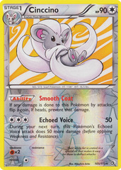 Cinccino - 105/113 - Holo Rare - Reverse Holo on Channel Fireball