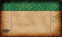 Elder Dragon Scroll Playmat Green