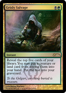 Grisly Salvage - Foil FNM 2013