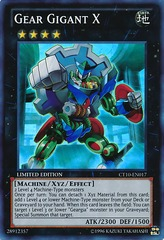 Gear Gigant X - CT10-EN017 - Super Rare - Limited Edition on Channel Fireball