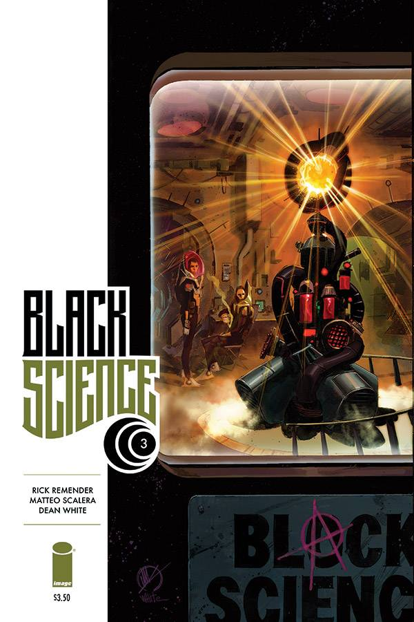 Black Science #3 (Mr)