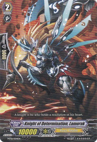 Knight of Determination, Lamorak - MT01/004EN