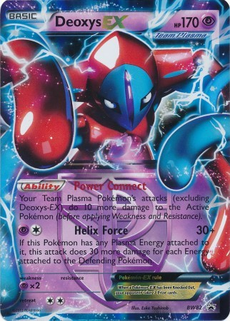 Deoxys-EX - BW82 - Promotional