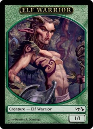 Elf Warrior Token Singles Magic 187 Mtg Special Editions
