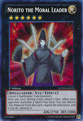 Norito the Moral Leader - NUMH-EN039 - Secret Rare - Unlimited