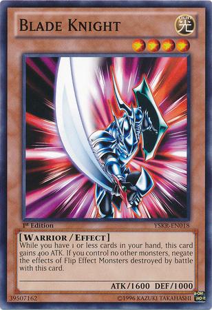 Blade Knight - YSKR-EN018 - Common - 1st Edition