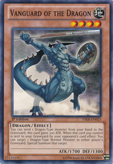 Vanguard of the Dragon - YSKR-EN025 - Common - 1st Edition