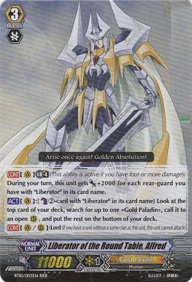 Liberator of the Round Table, Alfred - BT10/003EN - RRR