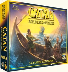 Catan: Explorers & Pirates 5-6 player expansion