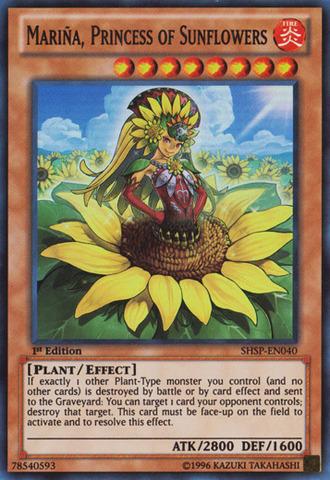 Mariña, Princess of Sunflowers - SHSP-EN040 - Super Rare - Unlimited Edition
