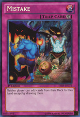 Mistake - SHSP-EN076 - Secret Rare - Unlimited Edition