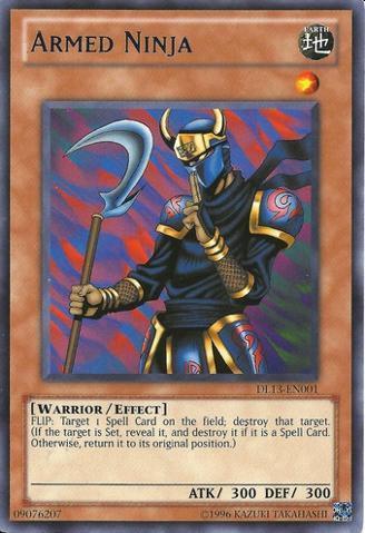 Armed Ninja - Blue - DL13-EN001 - Rare - Unlimited Edition