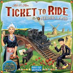 Ticket to Ride Map Collection: Volume 4 - Nederland (In-Store Sales Only)