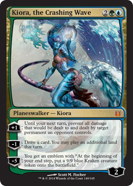 Kiora, the Crashing Wave