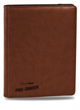 Ultra Pro Premium 9-Pocket Brown PRO-Binder