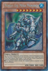 Mobius the Mega Monarch - LVAL-EN040 - Secret Rare - 1st Edition on Channel Fireball