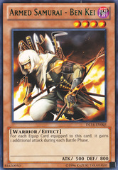 Armed Samurai - Ben Kei - Green - DL14-EN003 - Rare - Unlimited Edition on Channel Fireball