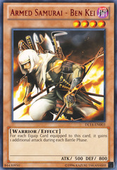 Armed Samurai - Ben Kei - Red - DL14-EN003 - Rare - Unlimited Edition on Channel Fireball